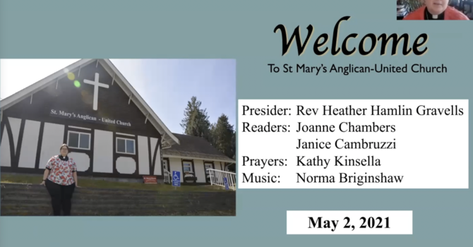 Welcome Rev'd Heather to St Mary's!