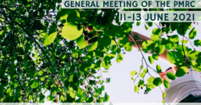 Upcoming General Meeting of the PMRC