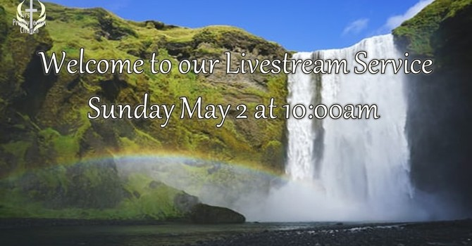 Sunday May 2 Livestream Service