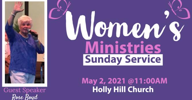 Women's Ministries Sunday