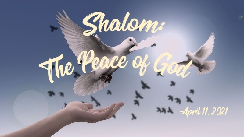 Shalom: The Peace Of God