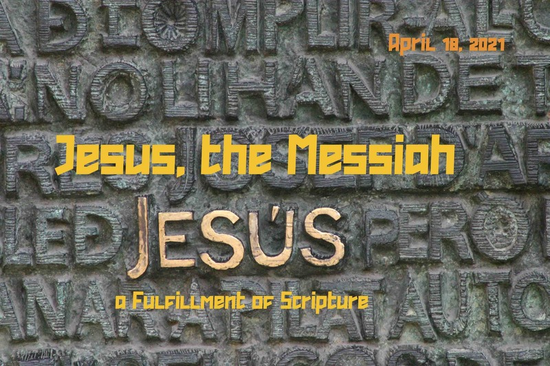 Jesus: The Messiah