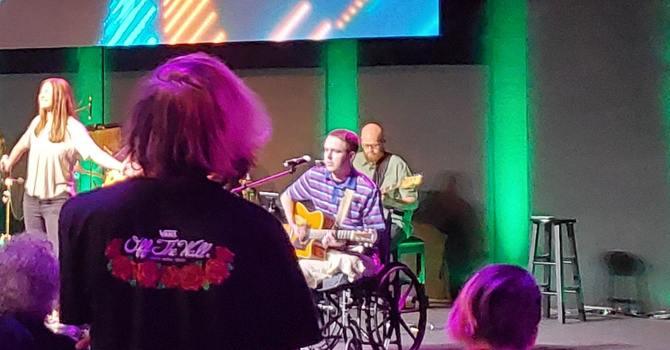 Austin Eldridge sings Battle Belongs! image
