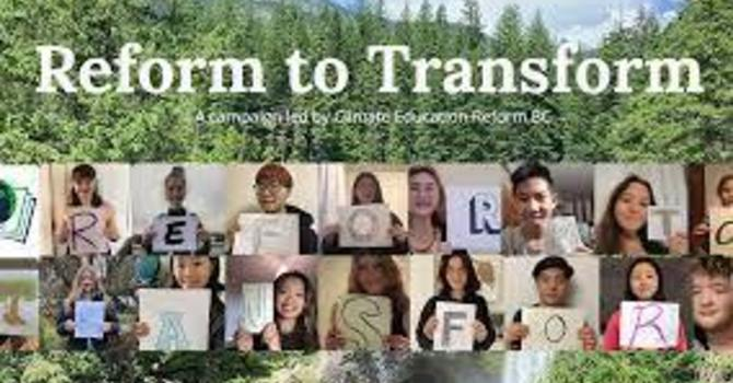 Climate Education Reform BC image