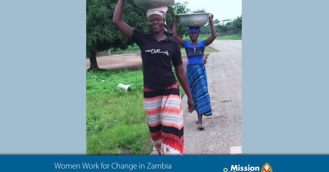 In Zambia, girls struggle to go to school.