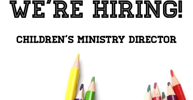 CHILDREN & FAMILY MINISTRIES DIRECTOR