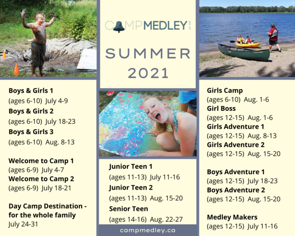 Summer camp season is almost here!