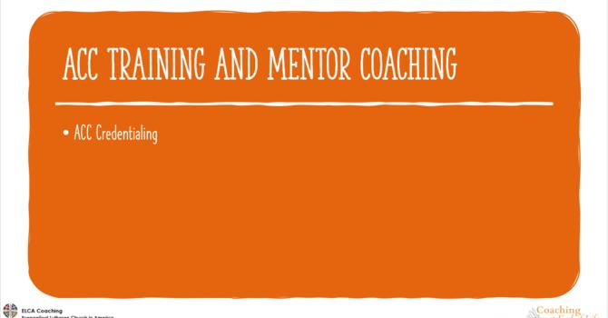 ACC Training & Mentor Coaching