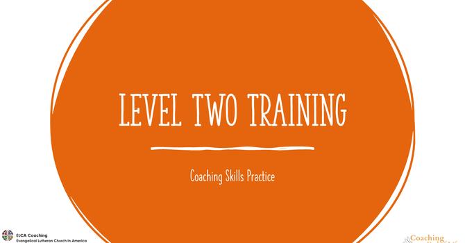 Level 2 Coaching Skills Training