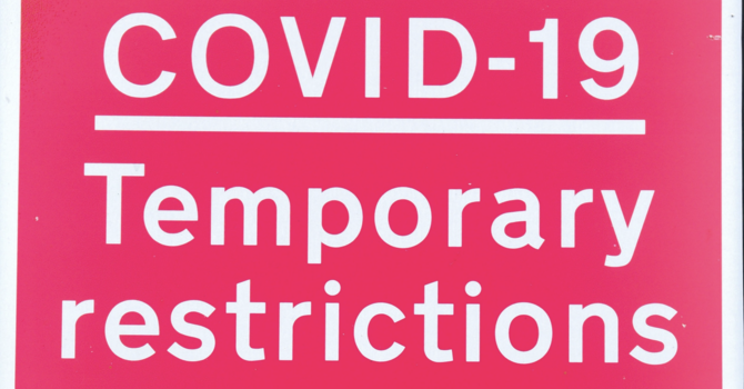 New Covid Restrictions - Online Service