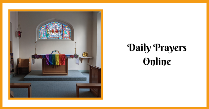 Daily Prayers for Thursday, May 6, 2021