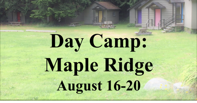 Day Camp: Maple Ridge
