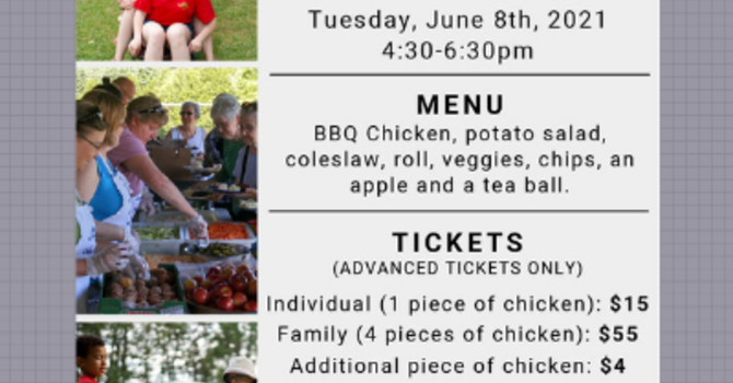 54th Annual Chicken Barbecue Fundraiser image