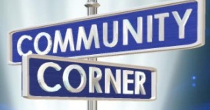 Community Corner for May 9