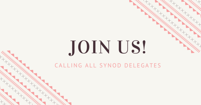Synod choir wants you! image