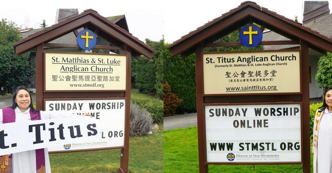St. Titus - Signage Update image