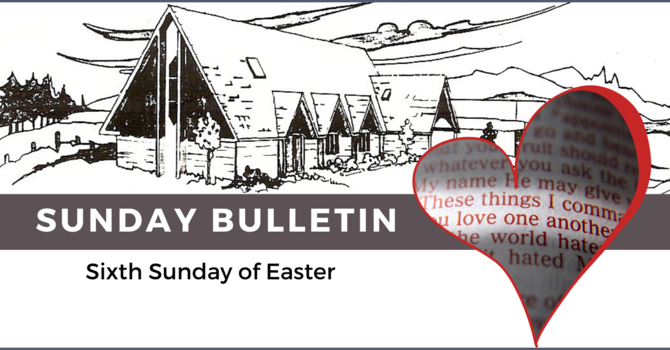 Bulletin & ZOOM link - May 9, 2021