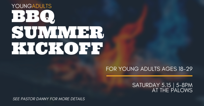 Young Adults Summer BBQ