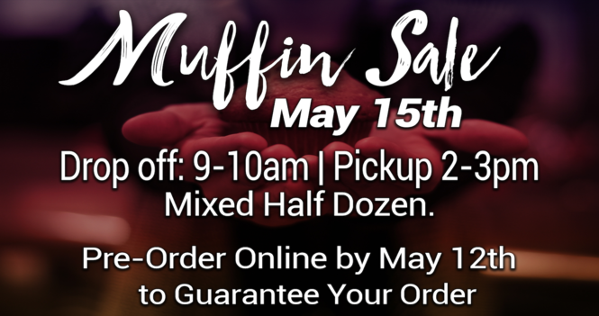 May Muffin Sale