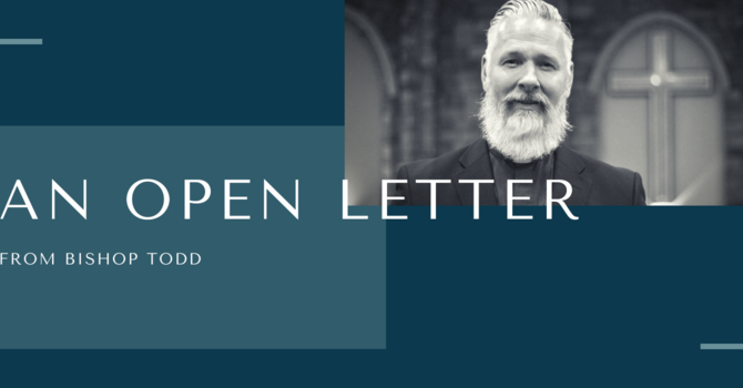 Open Letter from Bishop Todd