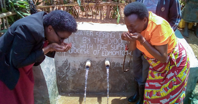 Bishop Jane's Farewell Gift to Provide 19 Community Water Treatment Projects