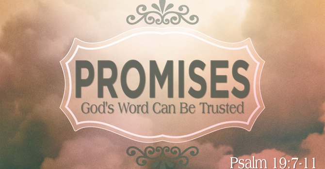 God's Word Can Be Trusted
