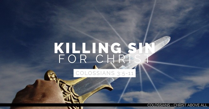 Killing Sin for Christ