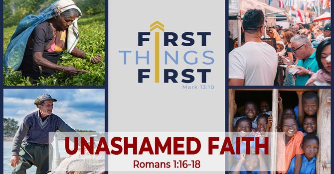 Unashamed Faith