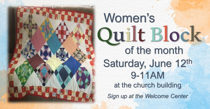 Quilt Block of the Month image
