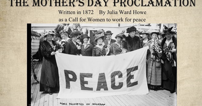 The Mother's Day Proclamation