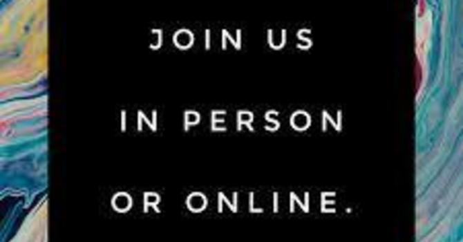 In Person or On Line Worship