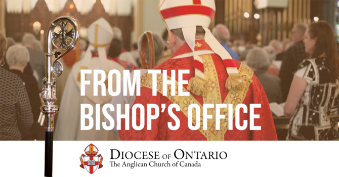 Bishop Michael Oulton: Provincial extension to stay-at-home order image