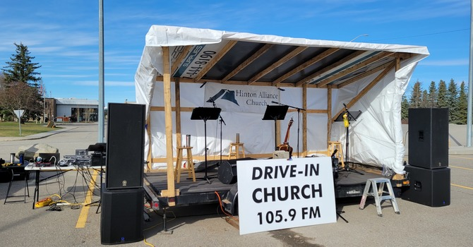 Drive-In Worship - Mothers Day  May9, 2021