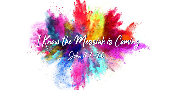 """Coming Sunday... """"I Know the Messiah is Coming"""""""