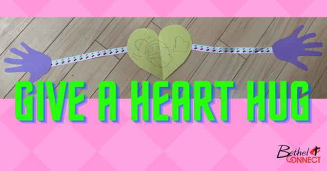 Give a Heart Hug